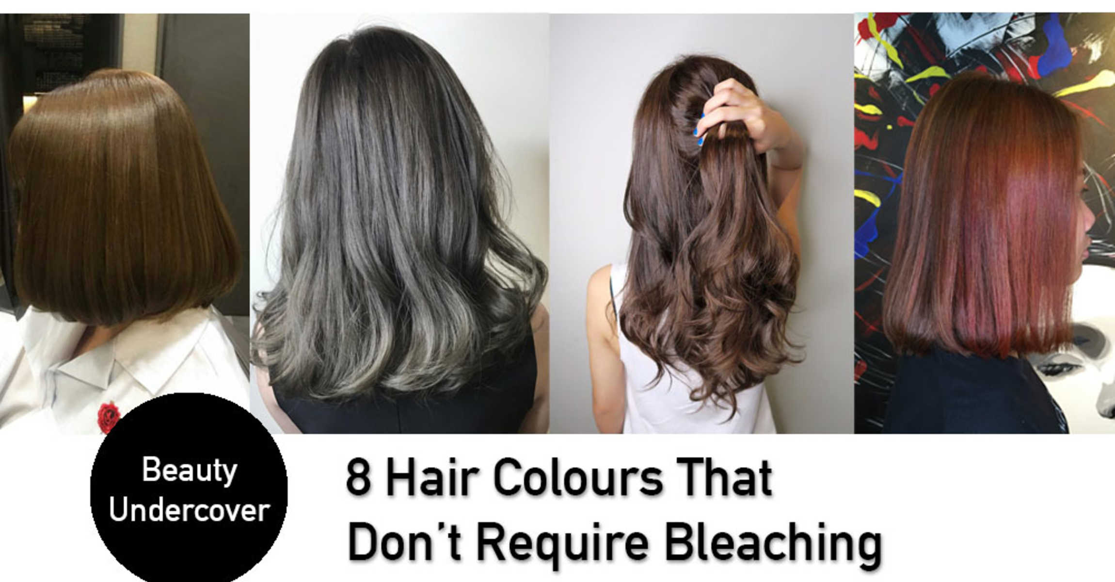Trendy Hair Colours That Do NOT Require Bleaching in Singapore!