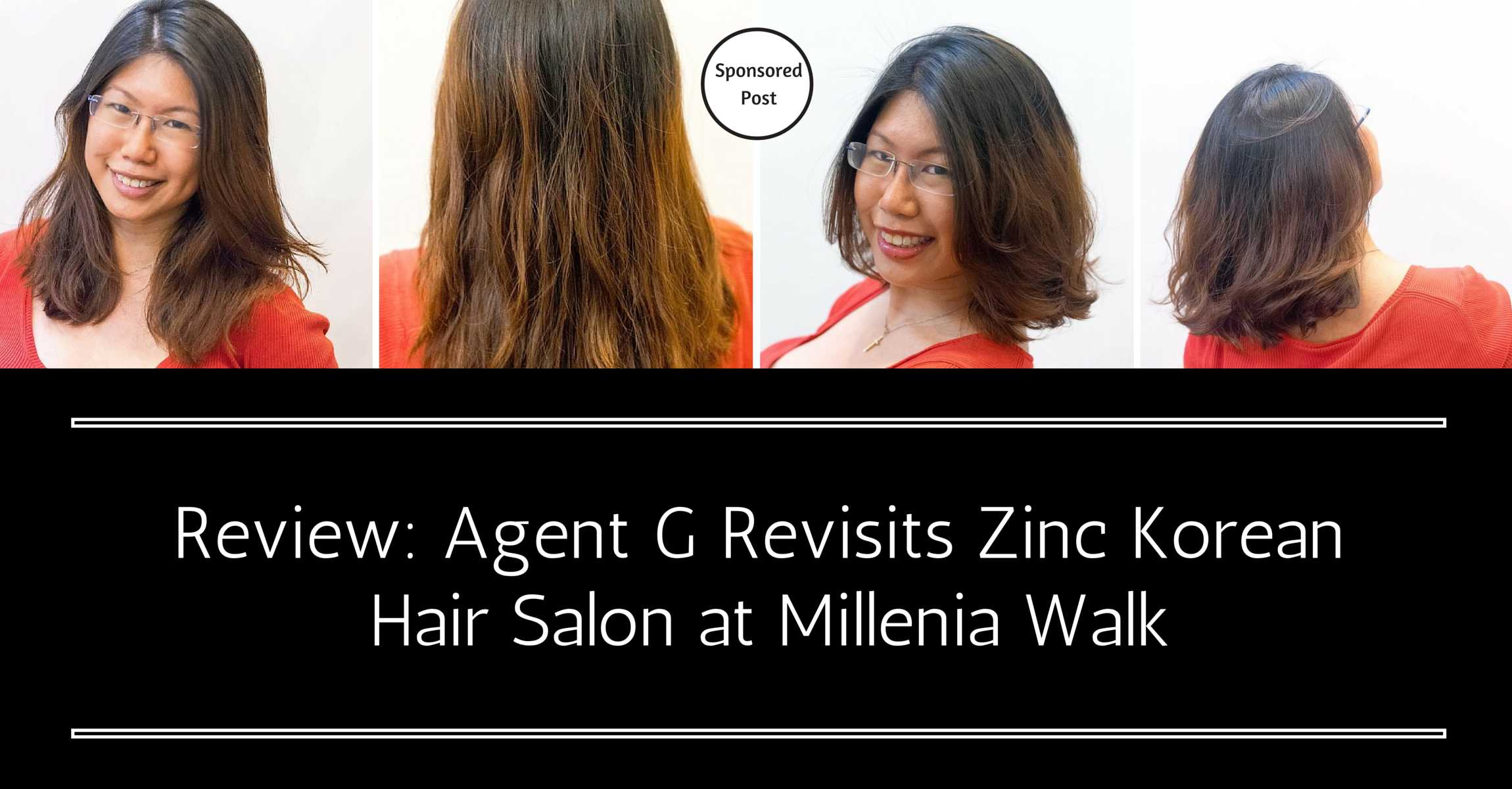 Short And Sassy Perm Agent G Revisits Zinc Korean Hair Salon At