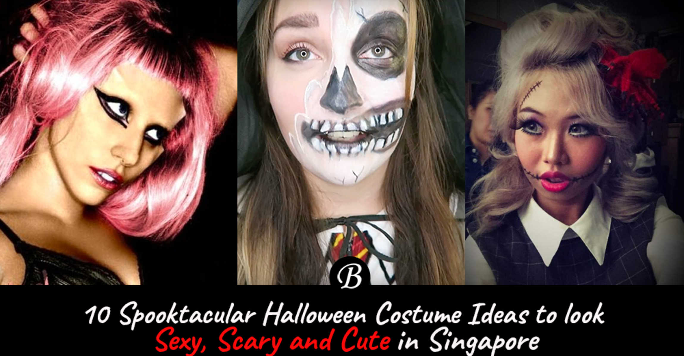 Halloween Looks Scary.Best Halloween Ideas To Look Scary Creepy And Cool In Singapore