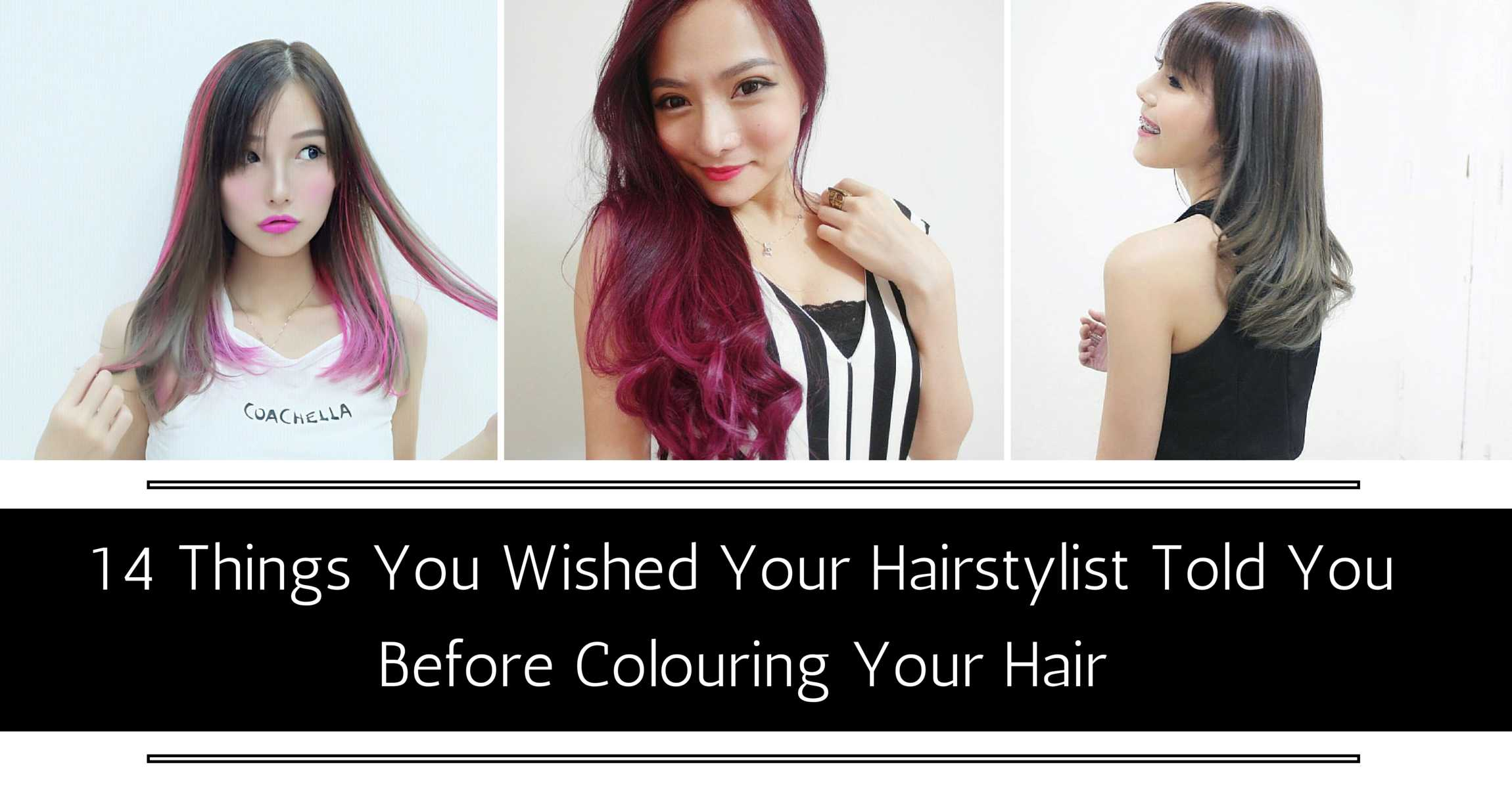 14 Things You Wished Your Hairstylist Told You Before Colouring Your