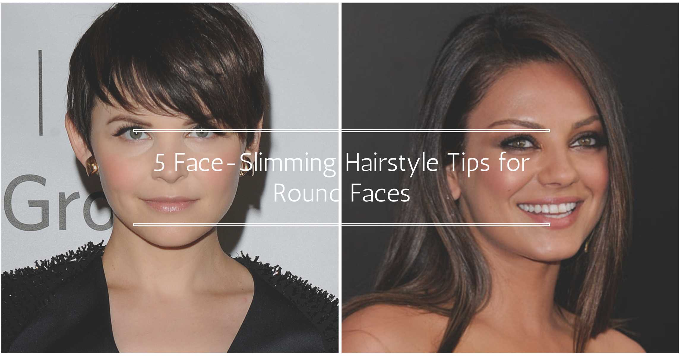 5 Life Saving Face Slimming Hairstyle Tips For Round Faces