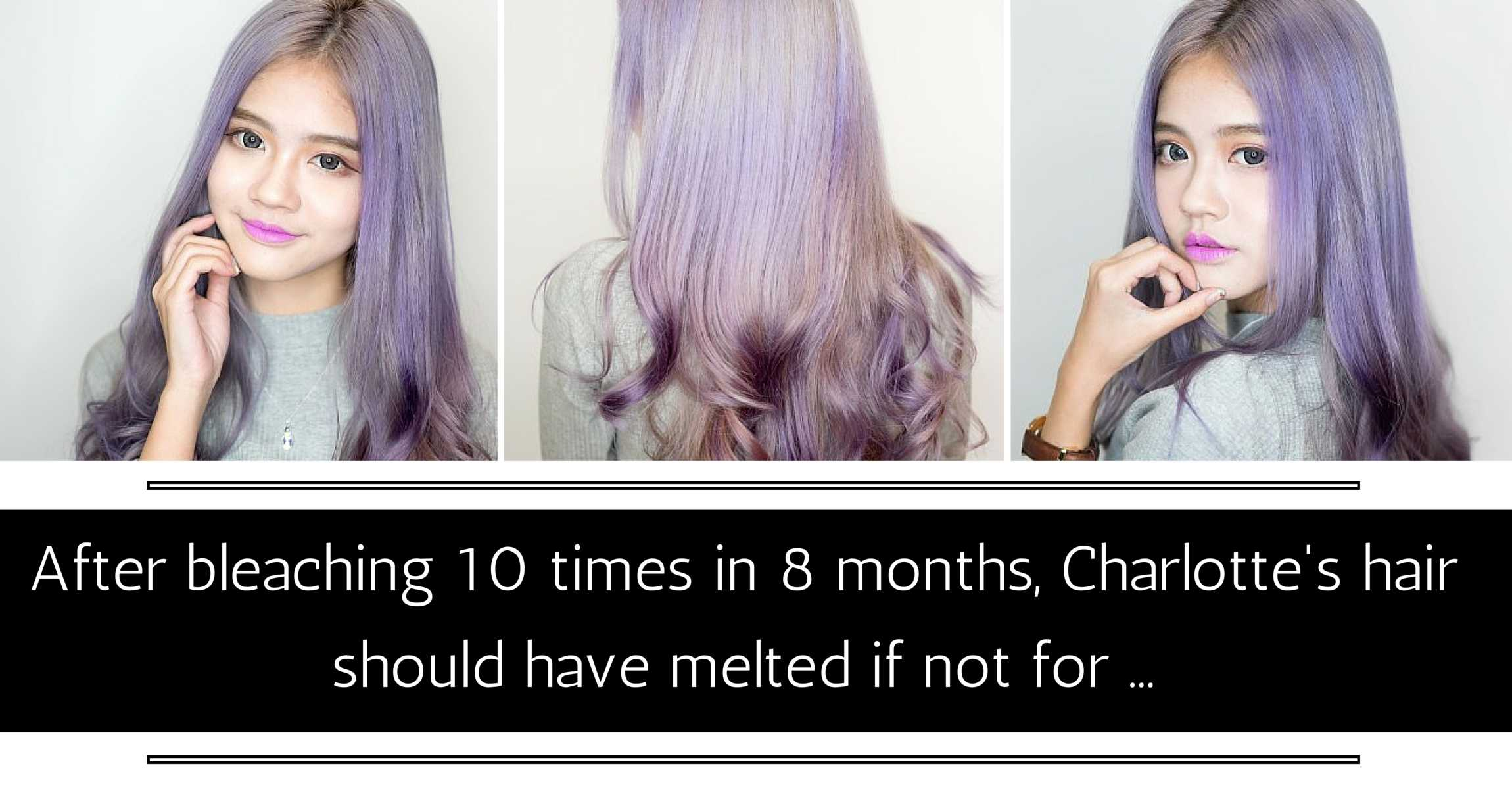 Bleaching 9 Times In 6 Months Charlottes Hair Should Have Melted