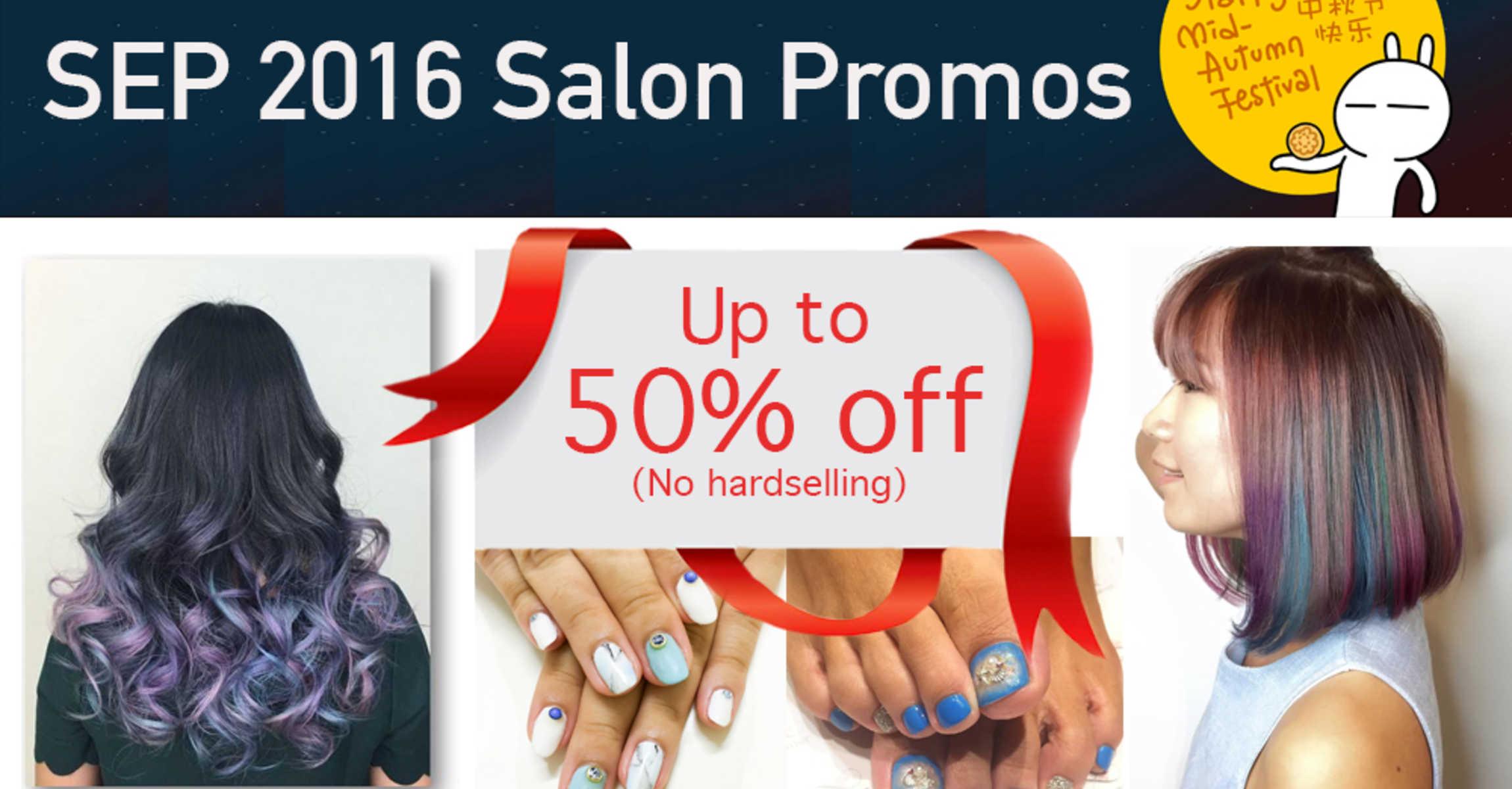 best salon promotions for september 2016. Black Bedroom Furniture Sets. Home Design Ideas