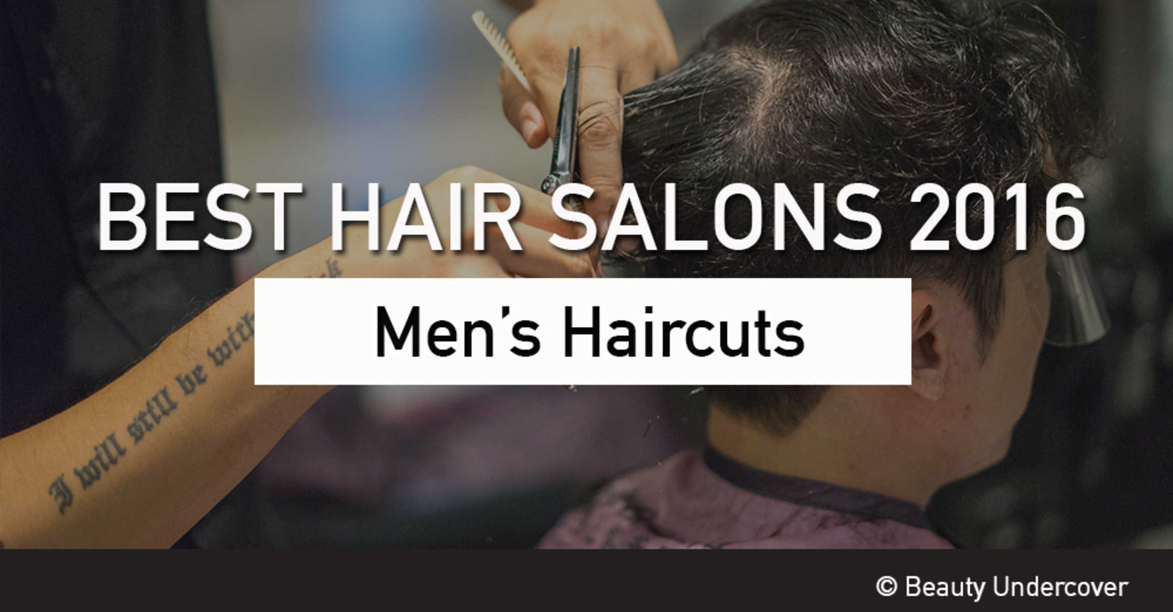 Best Hair Salons For Mens Haircut In Singapore 2016