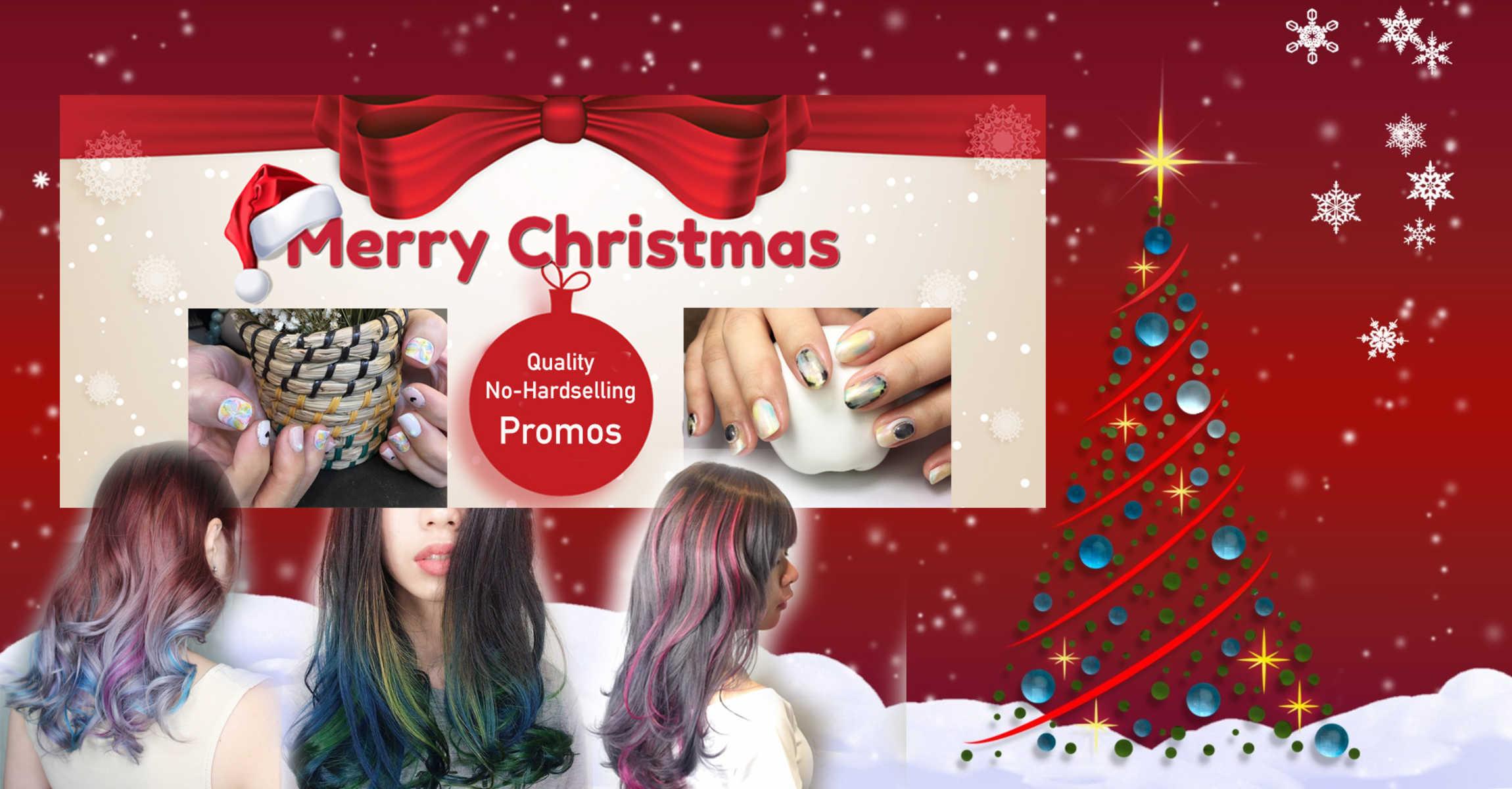 Christmas Beauty Salon.Best Christmas Hair And Beauty Salon Promotions For December