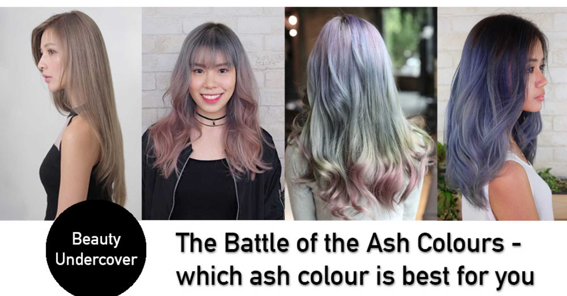 Ash Green Vs Ash Grey Vs Ash Blue Vs Ash Purple Vs Ash Brown Which Ash