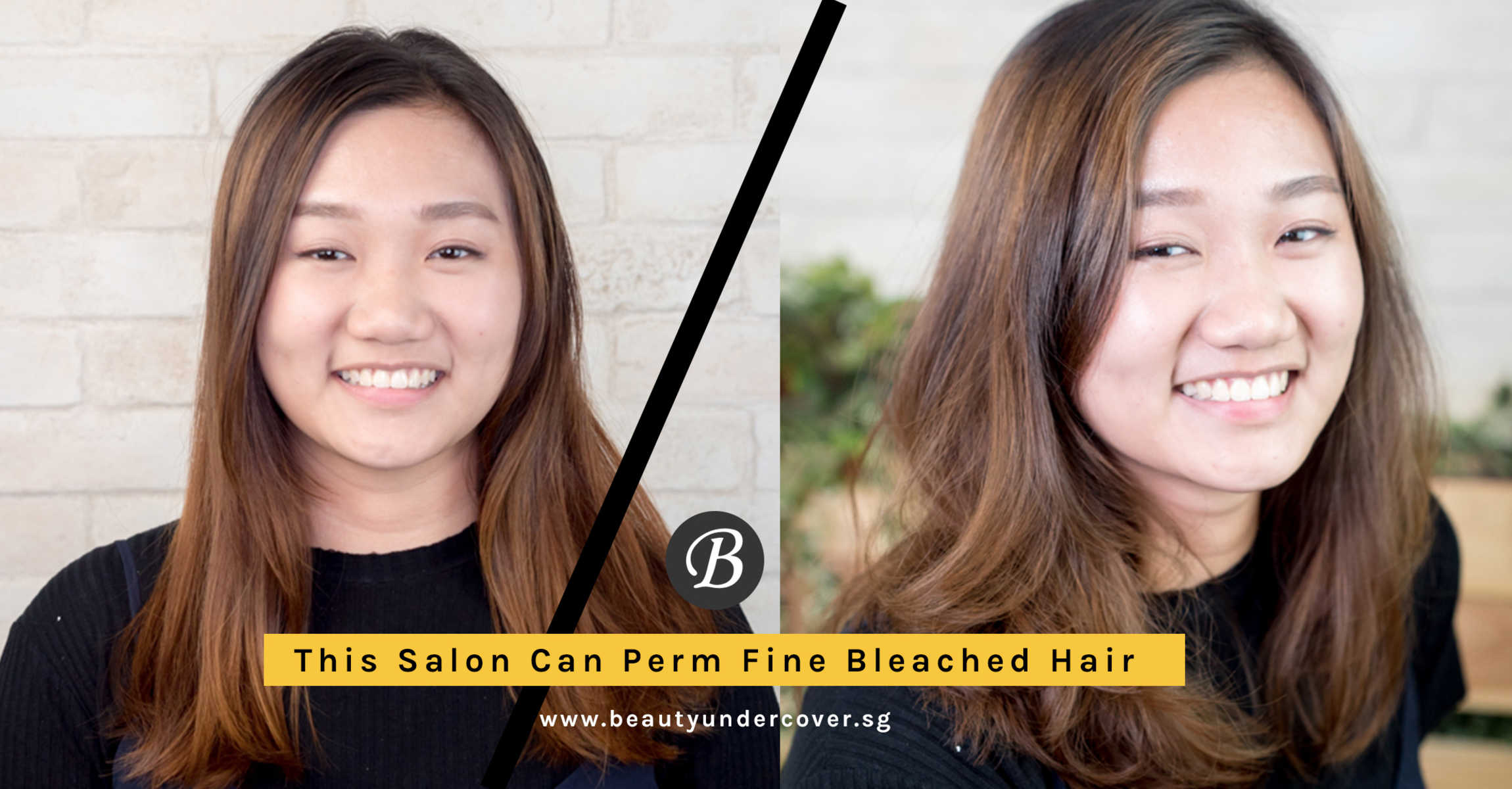 Hard To Achieve Volume On Fine Bleached Hair This Salon Can Now