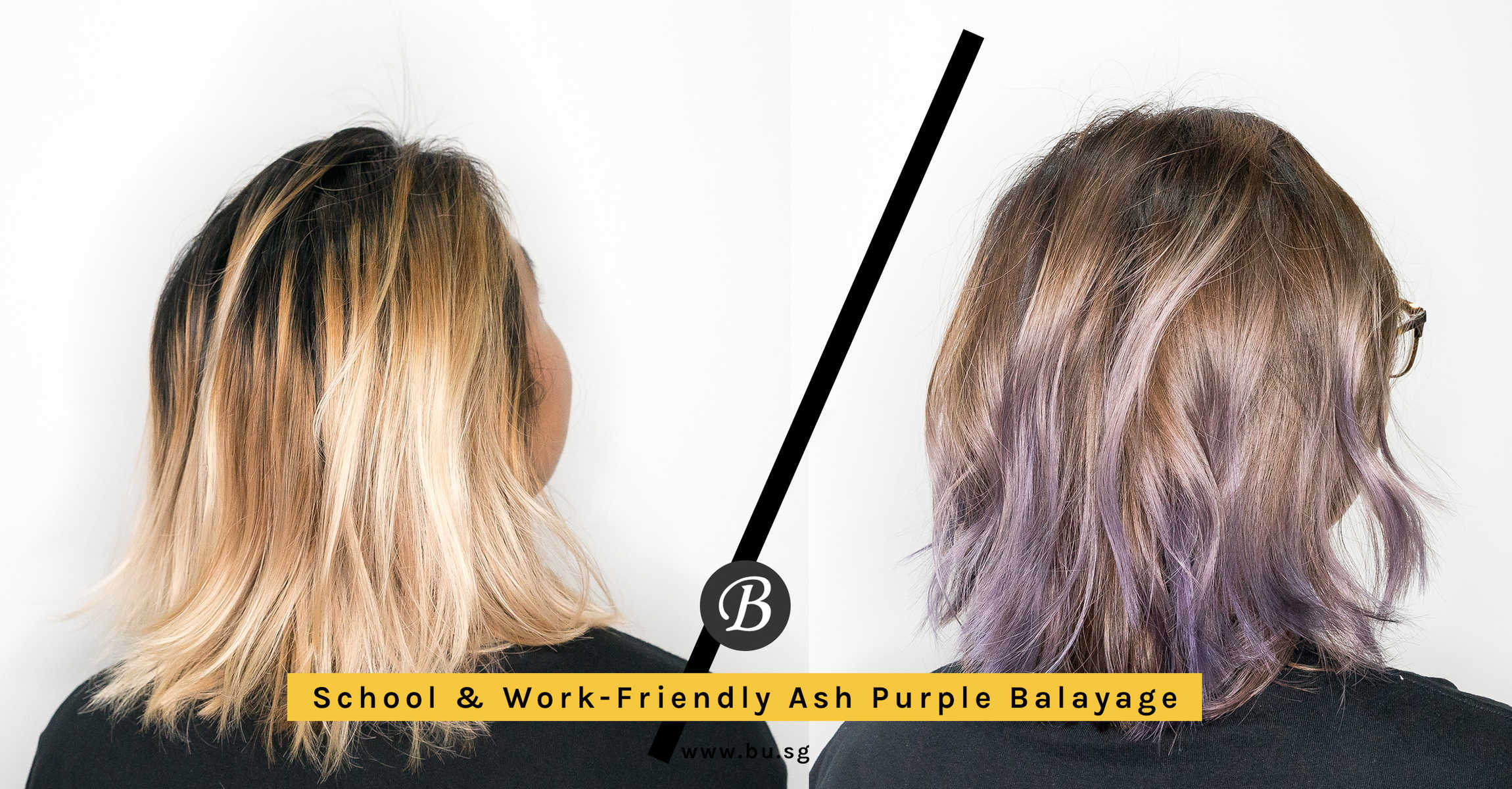 Sick Of Vivid Hair Colours Agent Cw Got Ash Purple Balayage At 99