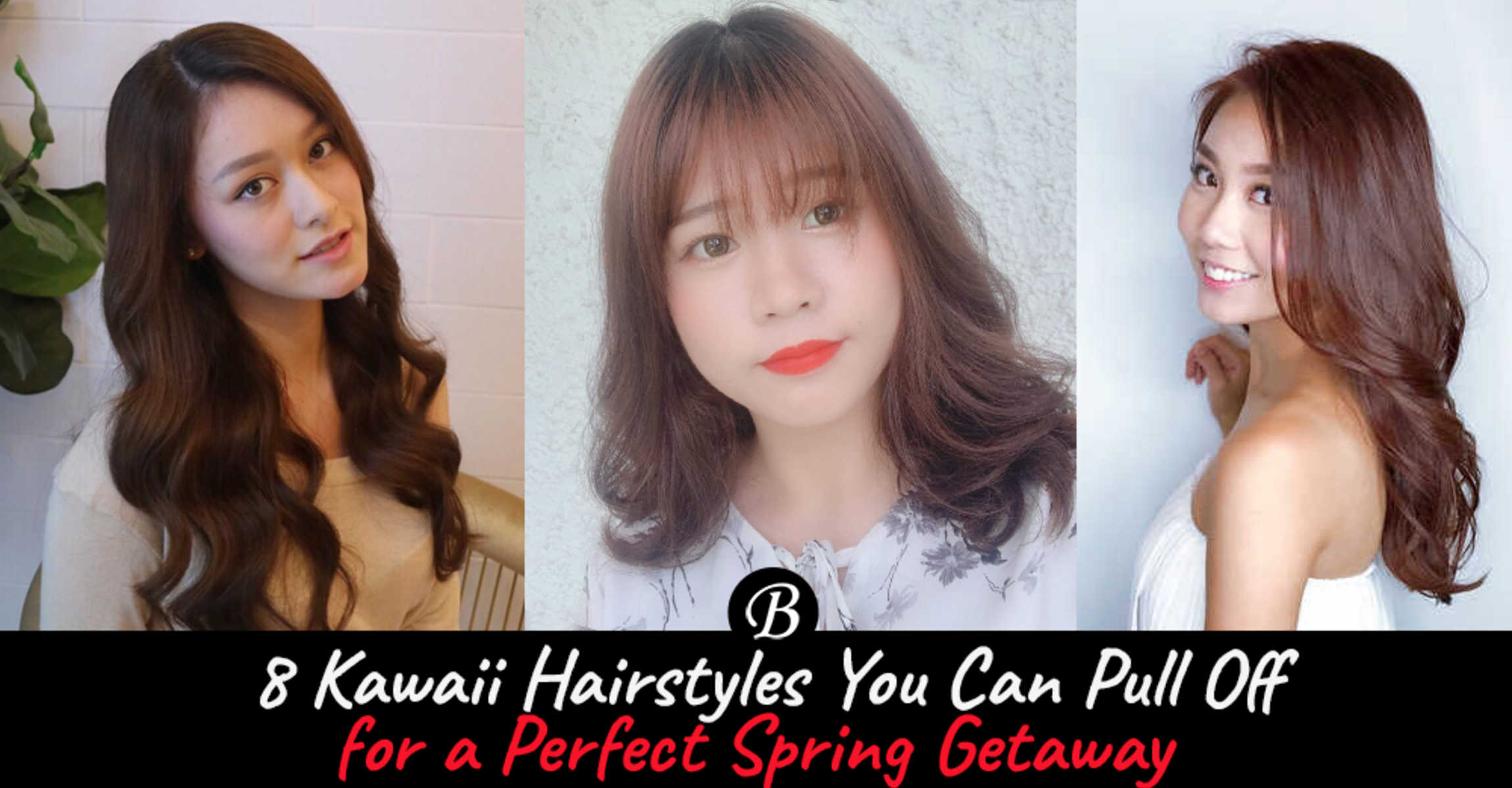 8 Kawaii Hairstyles You Can Pull Off For A Perfect Spring Getaway