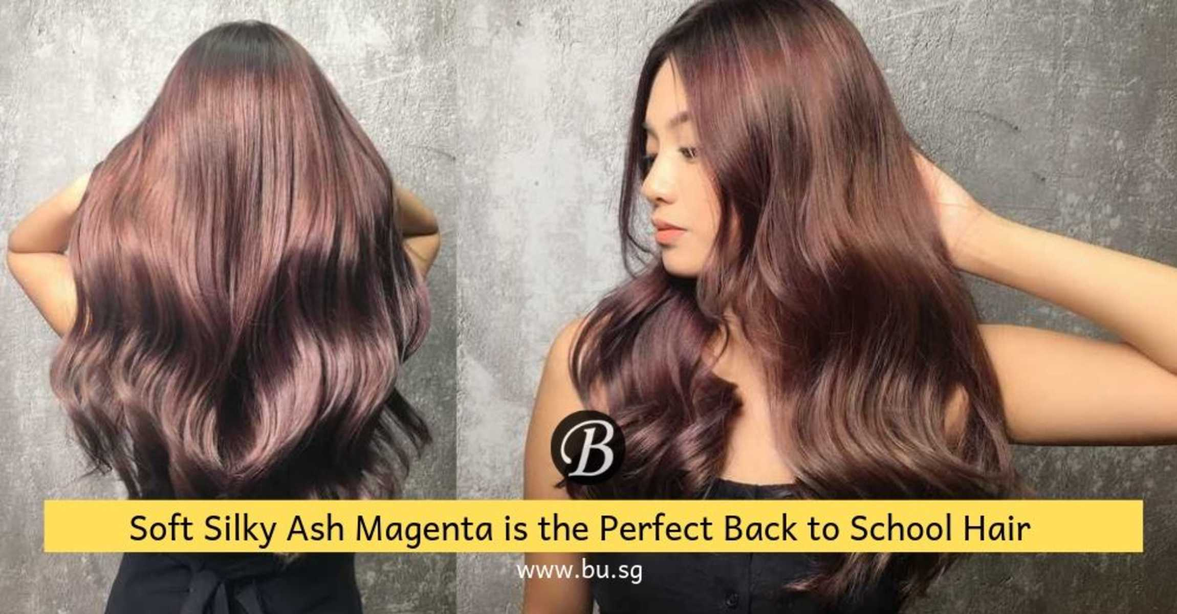 Soft Silky Ash Purple is the Back to School Hair Your ...