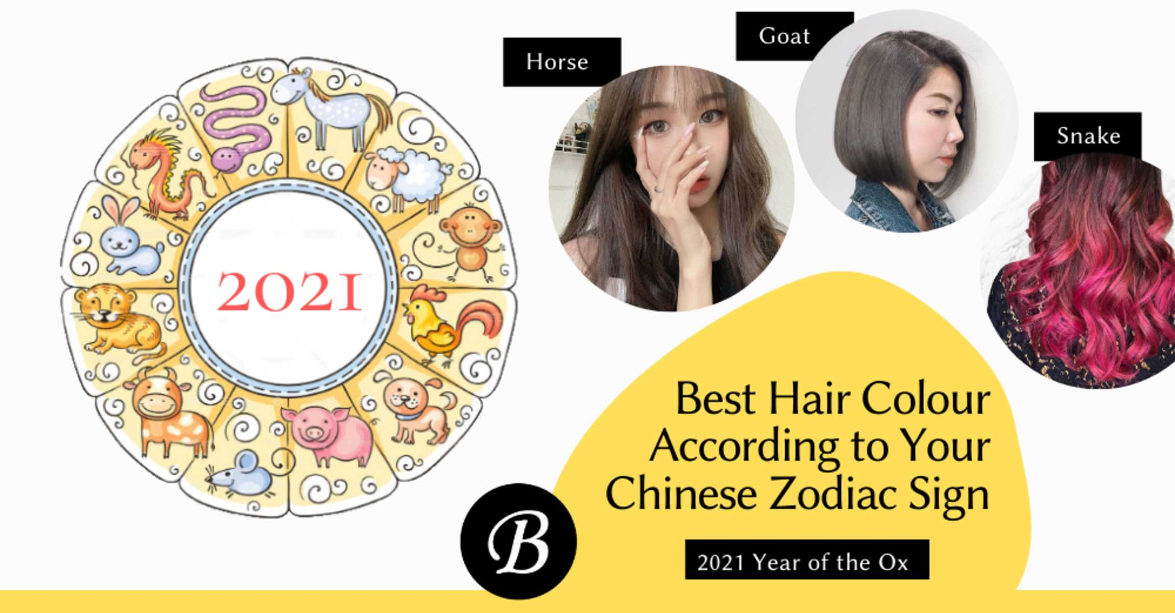Best Hair Colours For Chinese Zodiac Sign Updated 2021