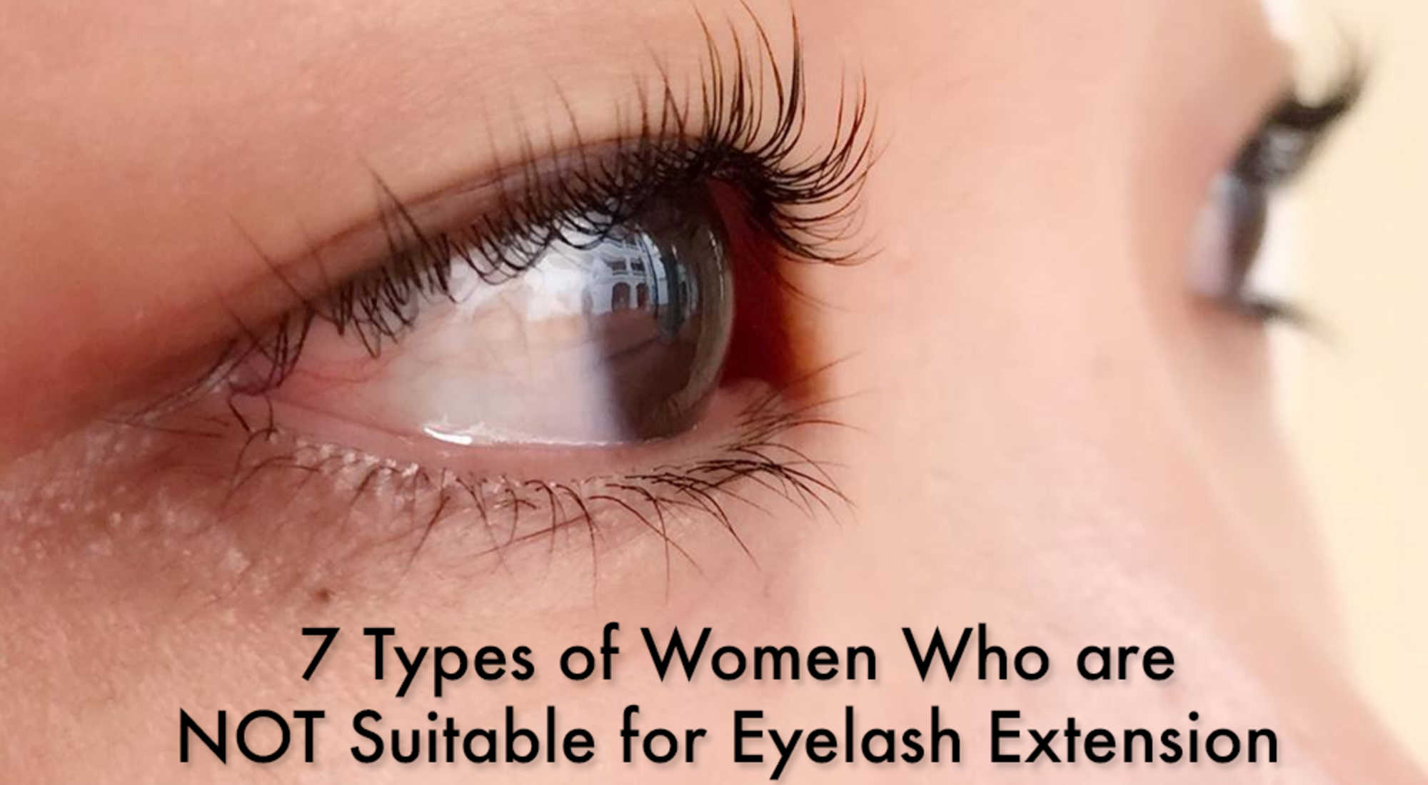 Everything You Need To Know About Eyelash Extensions In