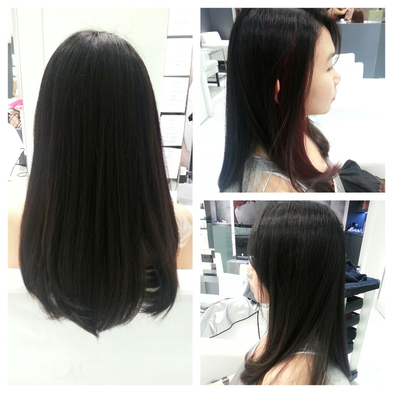 Rebond Hair Before And After Www Pixshark Com Images