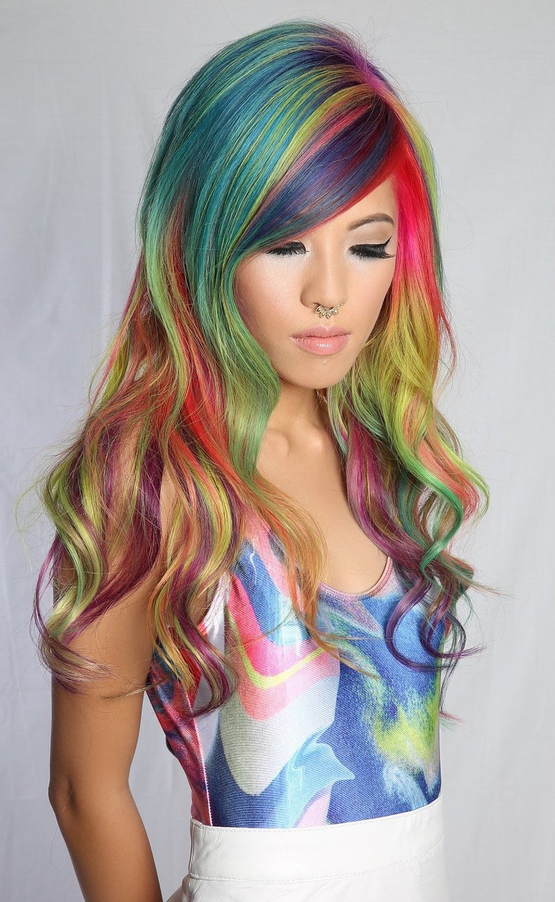 Rainbow Hair Dye Pack