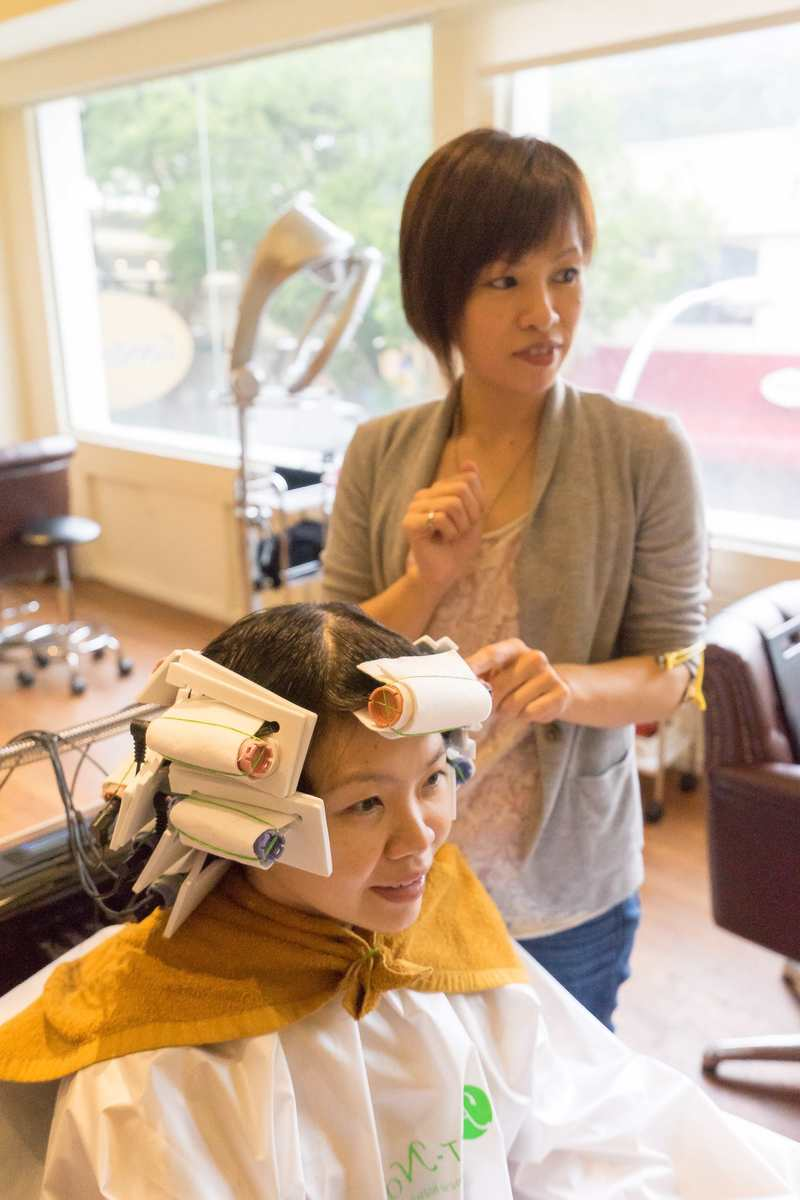 Japanese Digital Creep Perm At Art Noise Hair Salon
