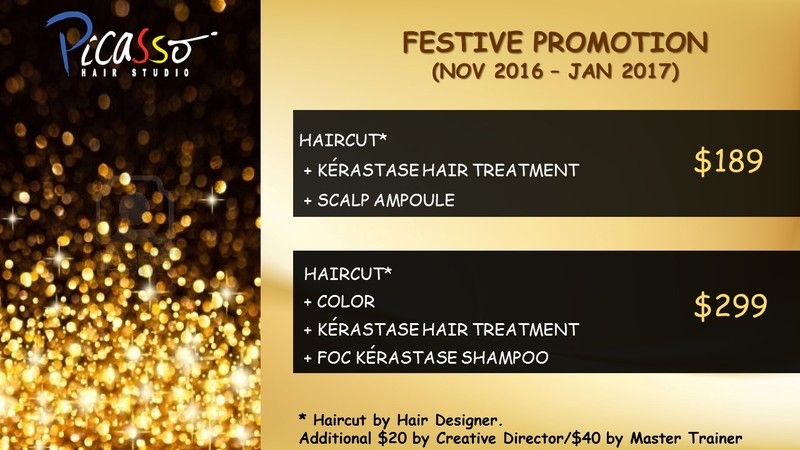 Salons with Promotions or no Surcharges for Chinese New Year