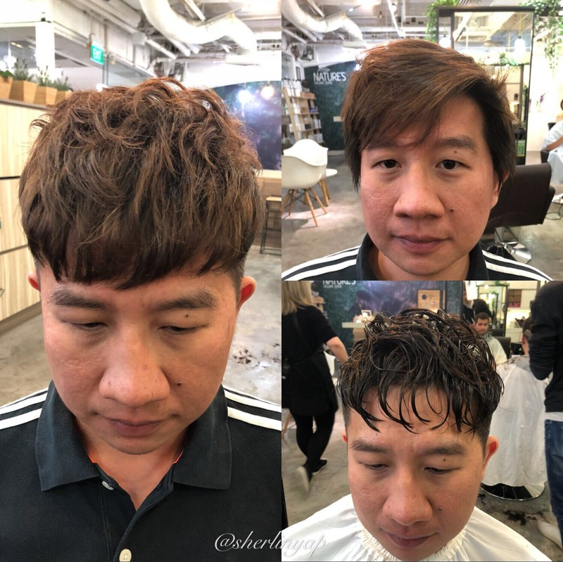Men in Singapore Tried Men's Perm And Here Are The Results