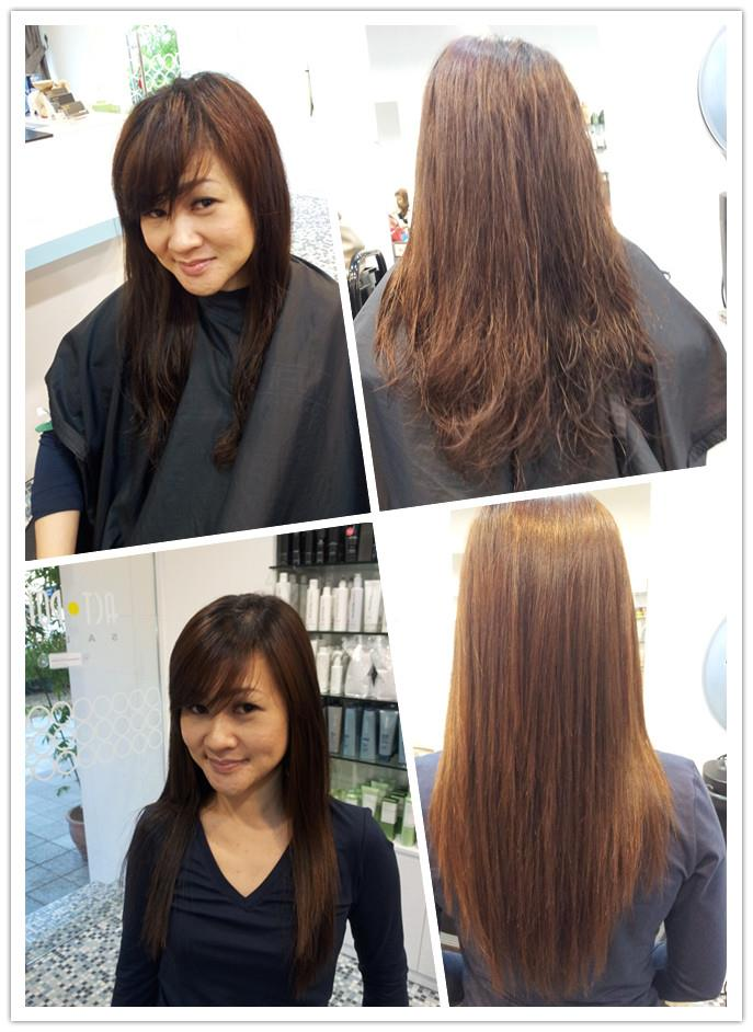 best hair salons for rebonding in singapore On act point salon price
