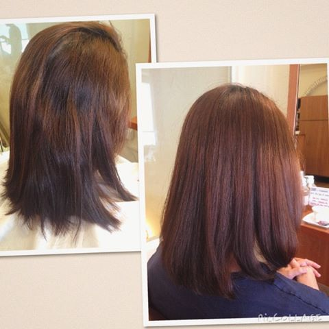 Korean short hairstyle with bangs