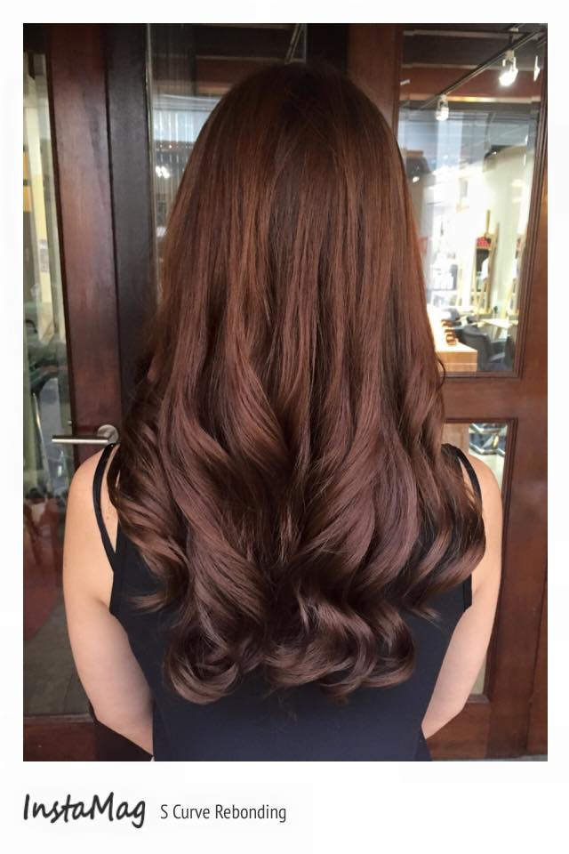 Long Layered Hair U Shape Back View The Blouse