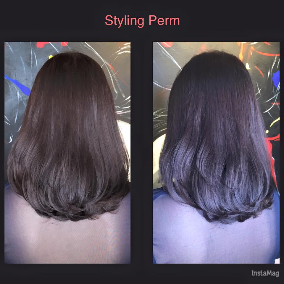 how to style your permed hair differences between soft rebonding vs volume rebonding vs 4835 | Styling Perm Carmen1