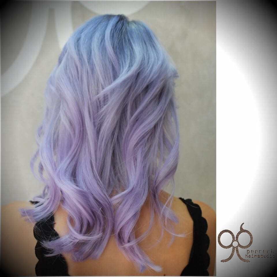 Best Salons In Singapore For Ombre Pink Violet Hair Colour