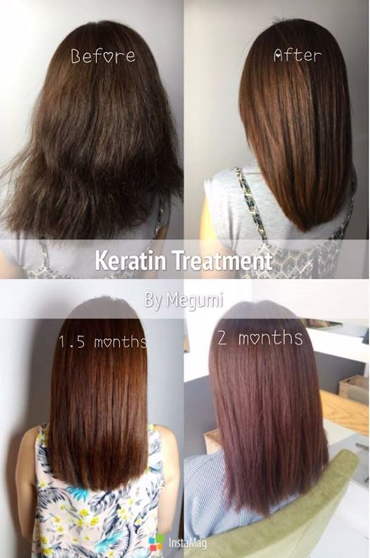Keratin Multi Fruit Acid Hair Smoother Cool Gals