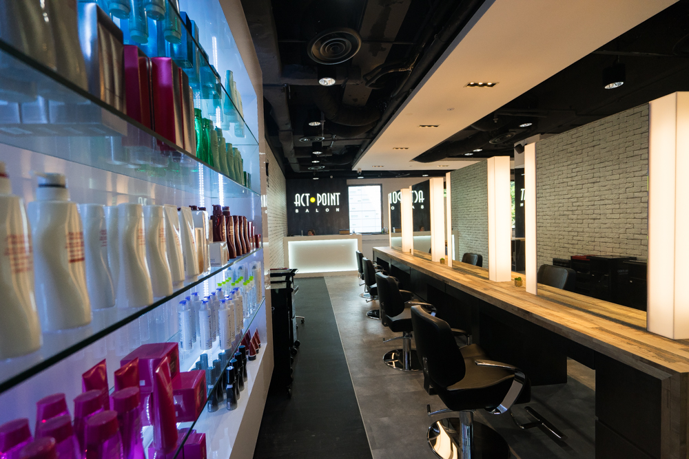 Best hair salons for hair rebonding and straightening in for Actpoint salon review