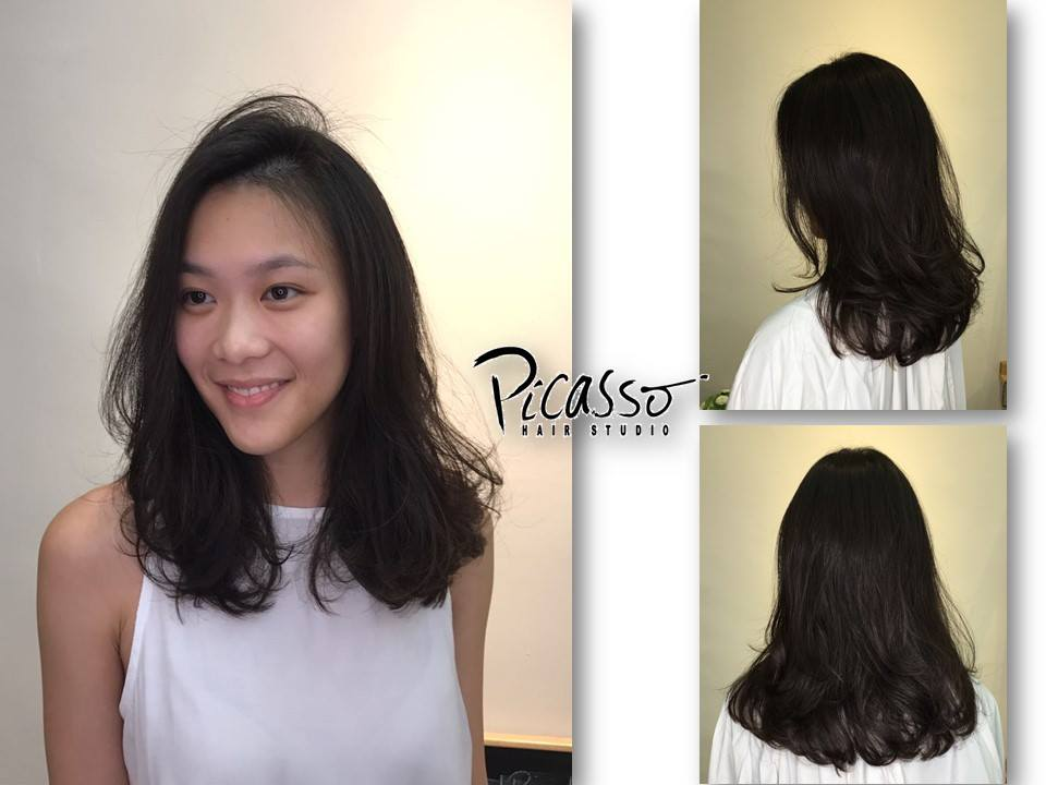Best hair salons for perms in singapore for C curl perm salon vim