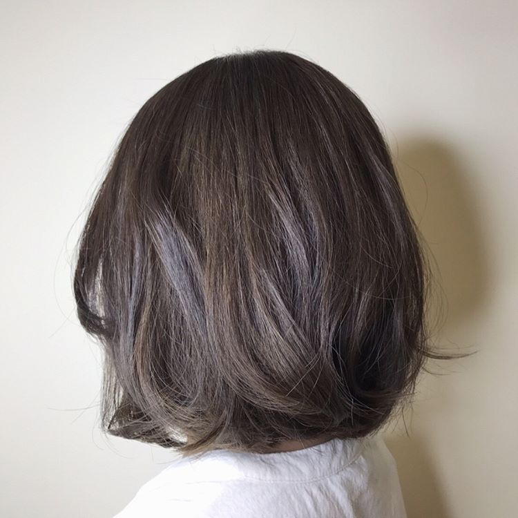 Grayge Balayage Brown By Art Noise Japanese Hair Salon