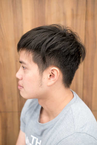 This Korean Two Block Cut And Ash Colour Can Make Your Hair Look