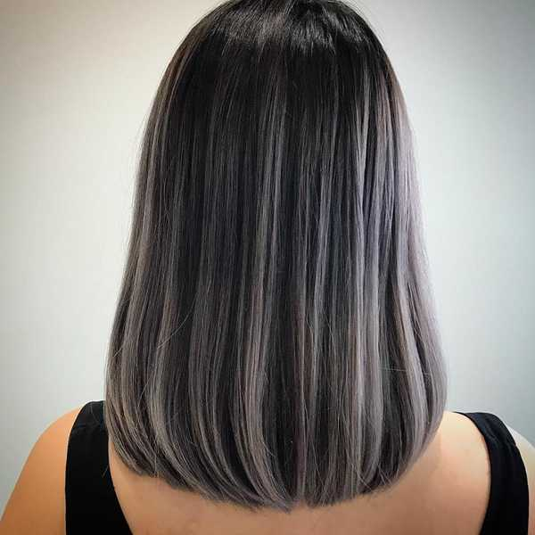 Fifty Shades Of Grey Hair Colours Done By Stylists In