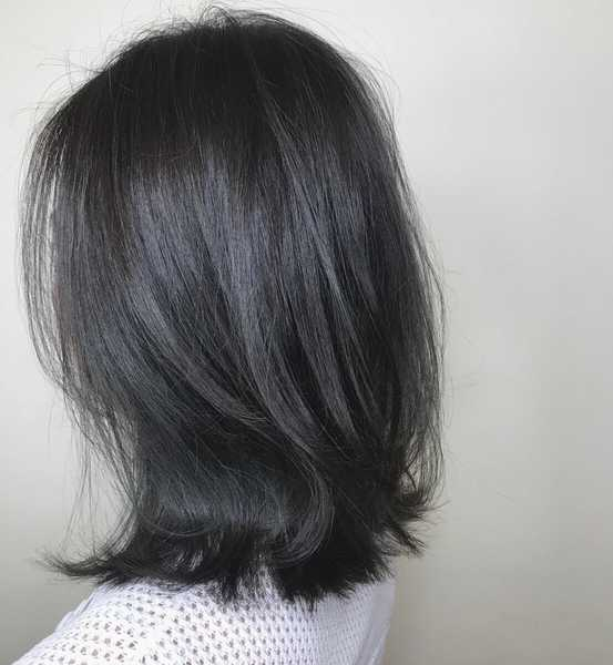 Fifty Shades Of Grey Hair Colours Done By Stylists In Singapore