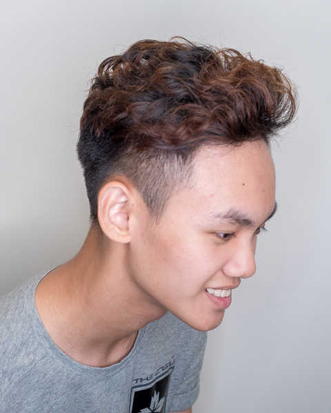 This Student Perms His Hair For The First Time Guess What He Looks